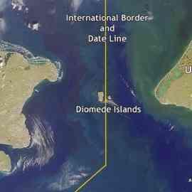 Hanya Berjarak 3,8Km Dua Pulau Ini Memiliki Perbedaan Waktu 21 Jam